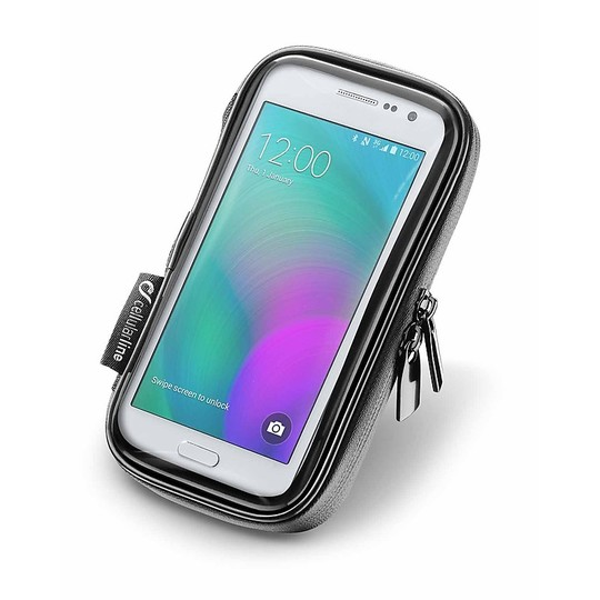 """Étui de moto Smartphone Holder Cellularline étanche jusqu'à 5.2 """"écran"""