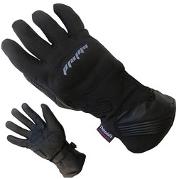 Gloves Winter Rain Sheild New Stretch Fabric and Leather Card Protections