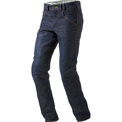 Pantaloni Moto Jeans Rev'it Campo Blu Scuro Medio L34