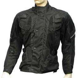 Moto Jacket Jacket Fabric 3 Layer All Season Summer Winter