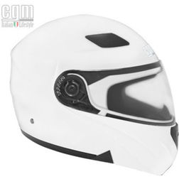 Motorcycle Helmet Modular Openable CGM 505A Singapore Double Visor White Lightweight