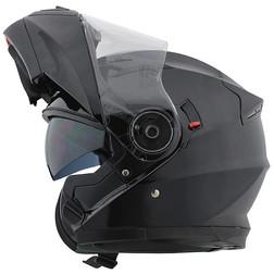 Casque de moto modulable Motocubo 925 Double Visor Matt Black