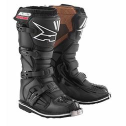 Boots AXO Enduro Moto Cross Drone Mx Neu Schwarz / Weiß