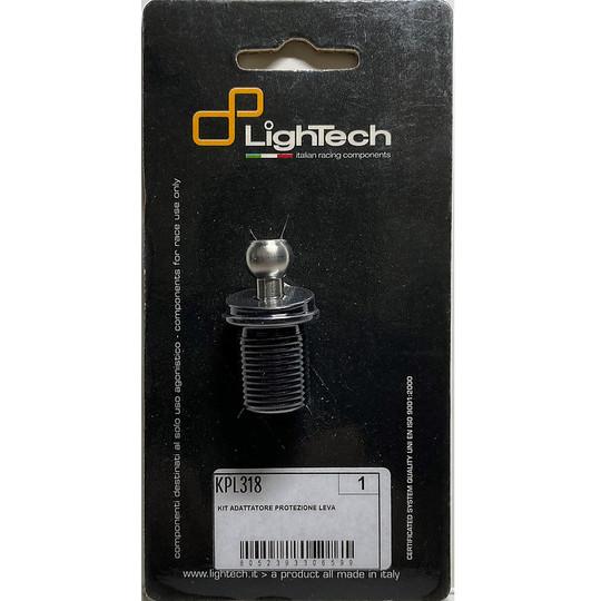 Adattatore per Protezione Leva Lightech KPL318 Specifico per Ducati Panigale 899/959/1199/1299