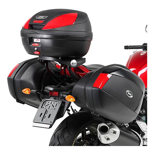 Attacco Per Valigie Laterali Monokey Side a Rimozione Rapida Givi GLXR359 per Yamaha FZ1 1000 (2006-15)