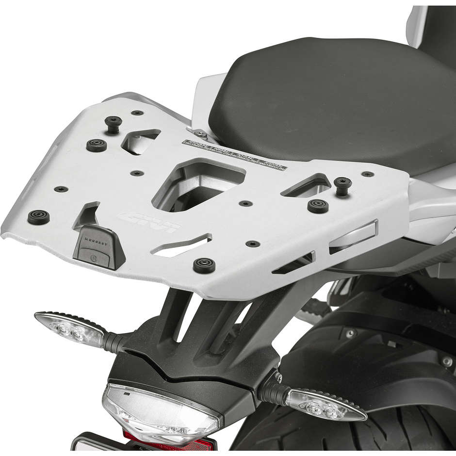 Attacco Posteriore in Alluminio Givi SRA5119 Per Bauletti Monokey Per  BMW S1000 xr (2015-19)