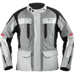 Axo Motorcycle Jacket Technical Voyager Wp Waterproof Grey Axo