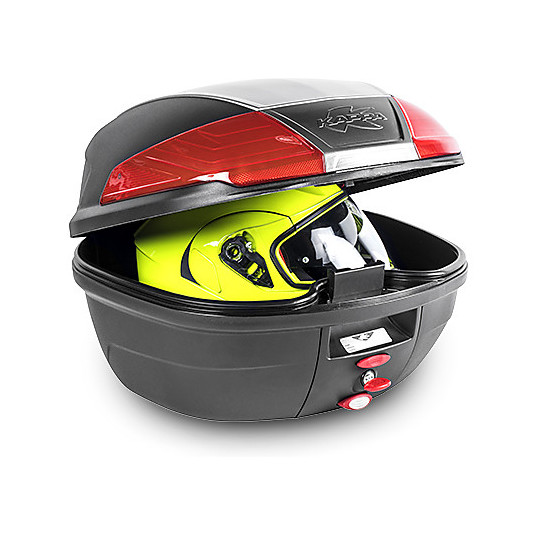Baluetto Moto Monolock System Kappa K400N Nero 40 Lt.
