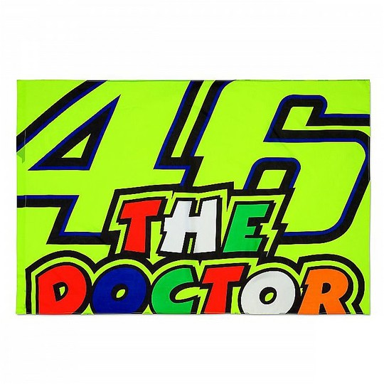 Bandiera Vr46 Classic Collection The Doctor