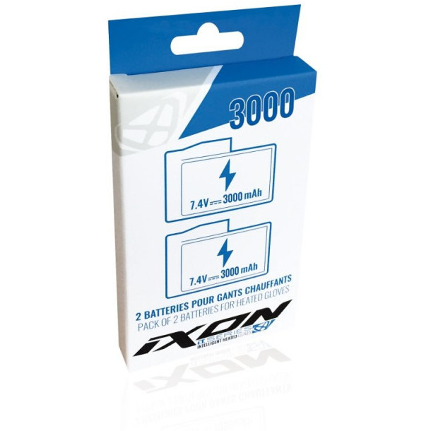 Batterie per Guanti Riscaldanti Ixon IT-BATT 3000 MA