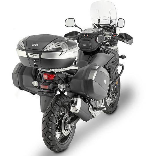 Bauletto Moto Givi V56NT MAXIA 4 Monokey System 56 Litri Catadiottri Fumè