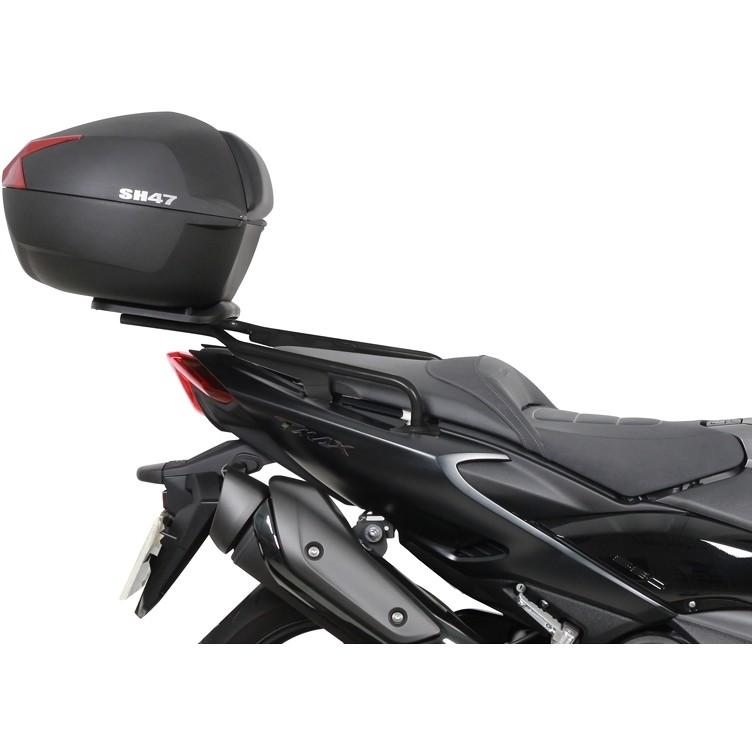 Bauletto Moto Shad SH47 Nero Catadriotto Rosso 47 Litri