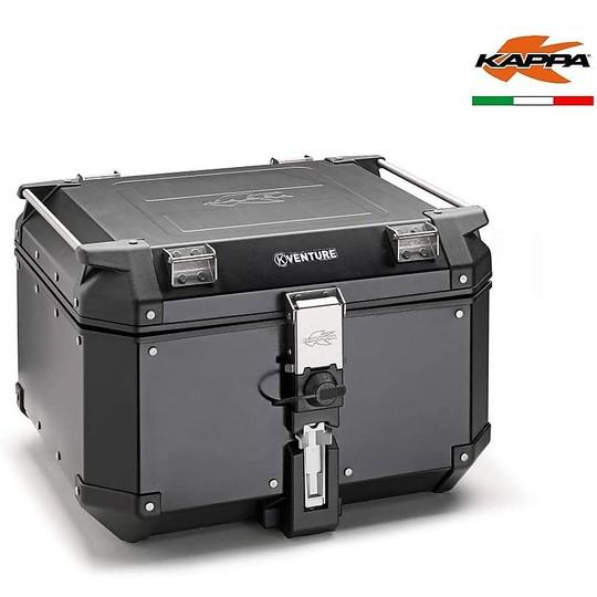 Bauletto Moto Top Case Kappa KVE48BN K-Venture Black Line Nero