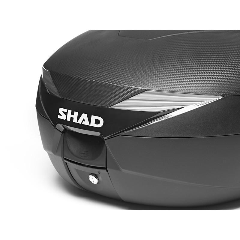 Bauletto per Moto e Scooter Shad Sh39 Carbon Look 39 Litri