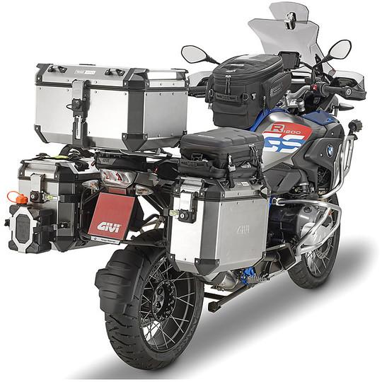 Bauletto Top Case Monokey Moto Givi OBKN58A TREKKER OUTBACK 58 Litri in Alluminio