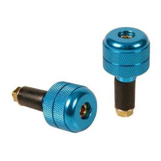 Bilanceri Stabilizzatori Universali In Alluminio Fori 13-17mm Colore Blu