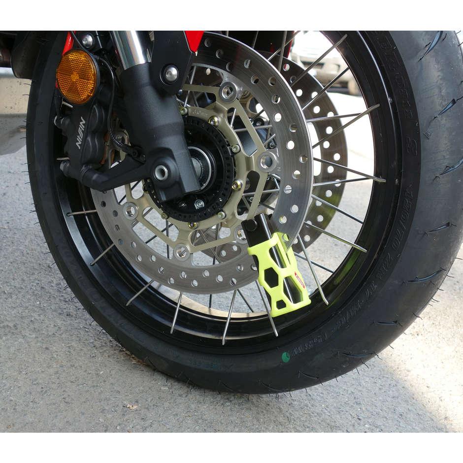 Blocca Disco Lucchetto ABUS Universale Granit Sledg 77 Web Giallo