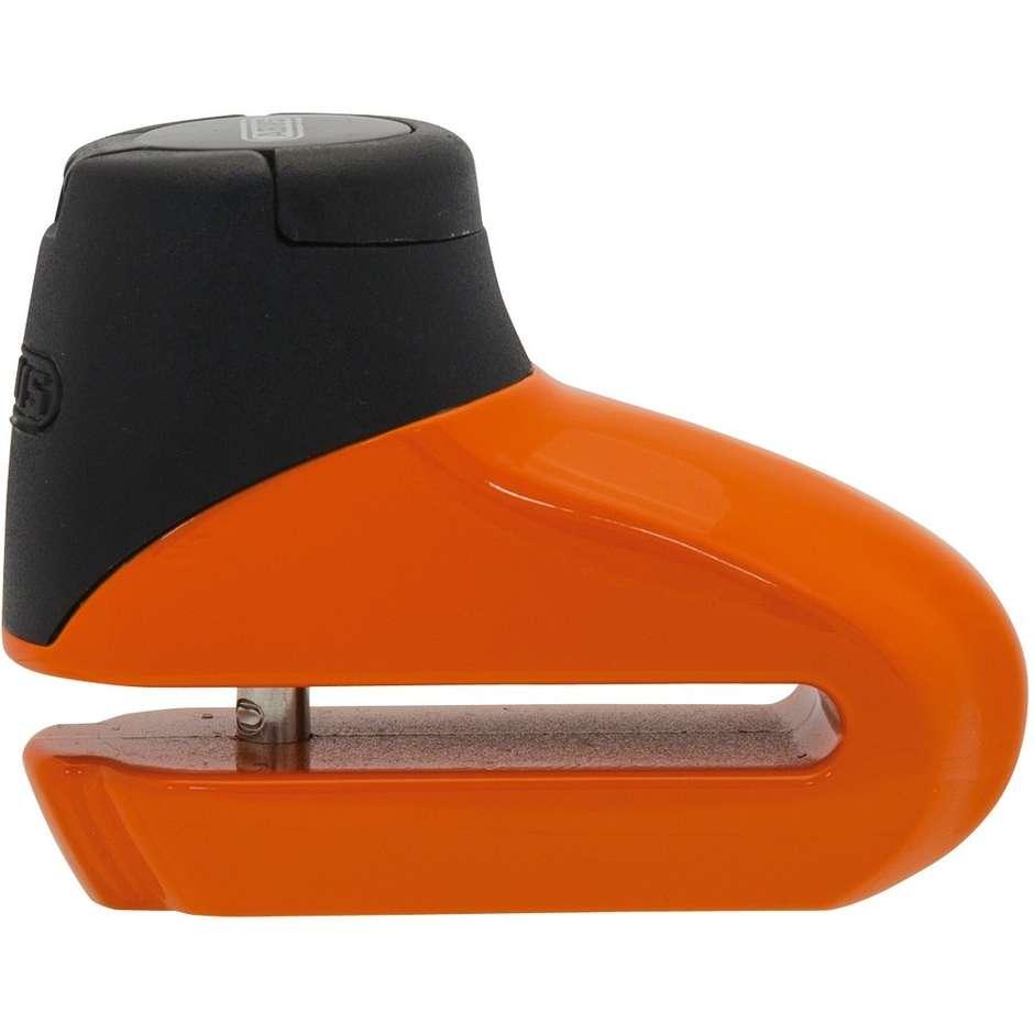Blocca Disco Lucchetto ABUS Universale Moto e Scooter 305 5mm Arancio