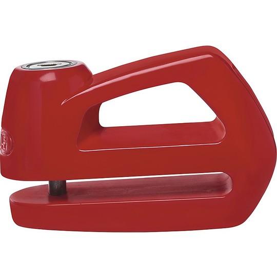 Blocca Disco Lucchetto ABUS Universale Moto e Scooter Element 285 Rosso