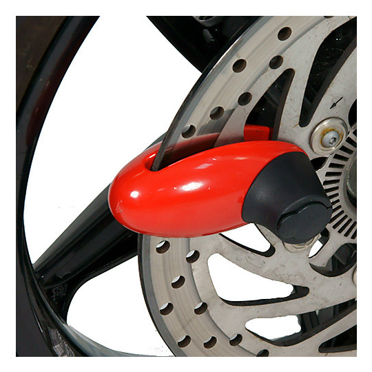 Bloccadisco TJ Marvin da 110mm Perno 9mm Rosso