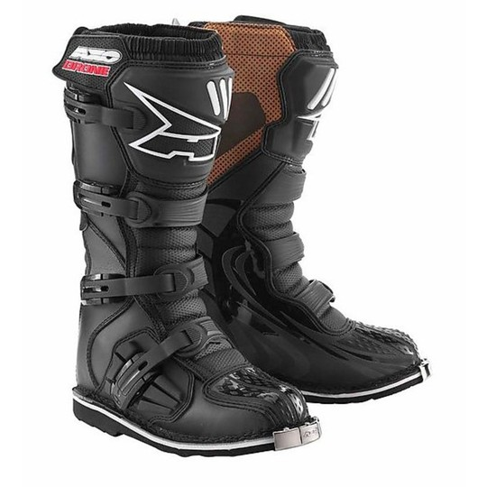 Boots AXO Enduro Moto Cross Drone Mx New Black
