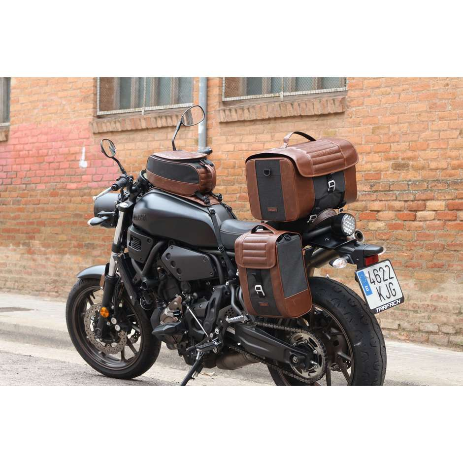 Borsa da Sella Moto Shad SR28 Vintage Marrone 28 litri