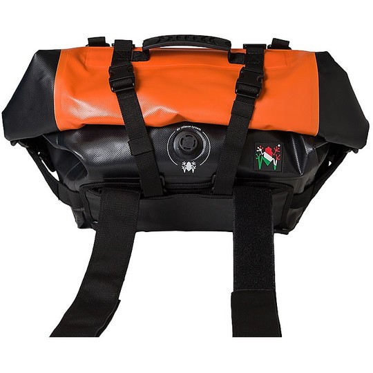 Borsa Moto Compatta Amphibious Motobag II Arancio 20Lt