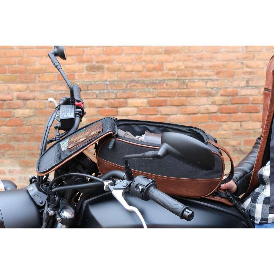 Borsa moto Da Serbatoio Shad SR18 Cafè Racer Marrone