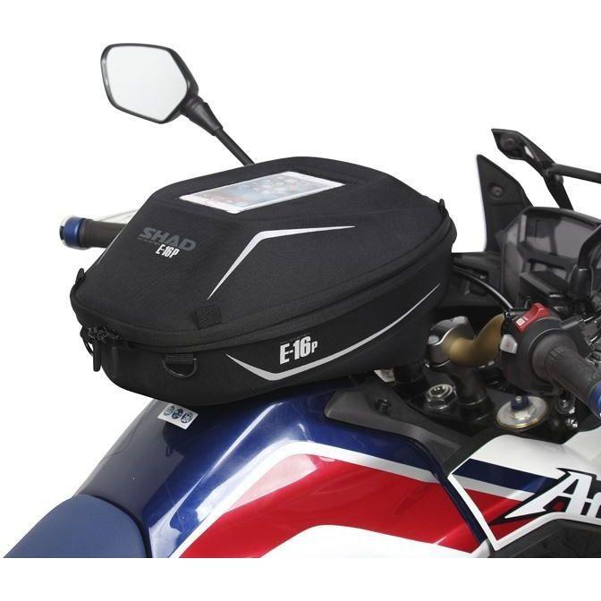 Borsa Moto Piccola Da Serbatio Shad E16 Sistema Di Fissaggio Pin