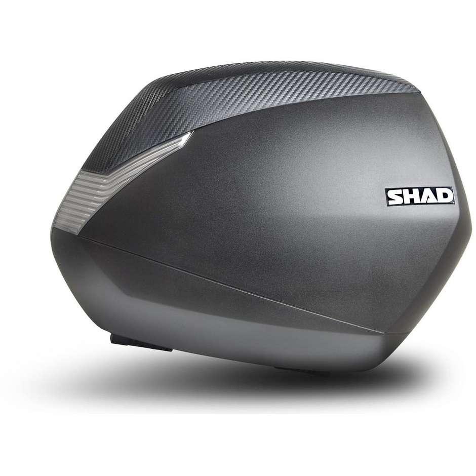 Borse Moto Laterali Shad SH36 nero Carbon Look
