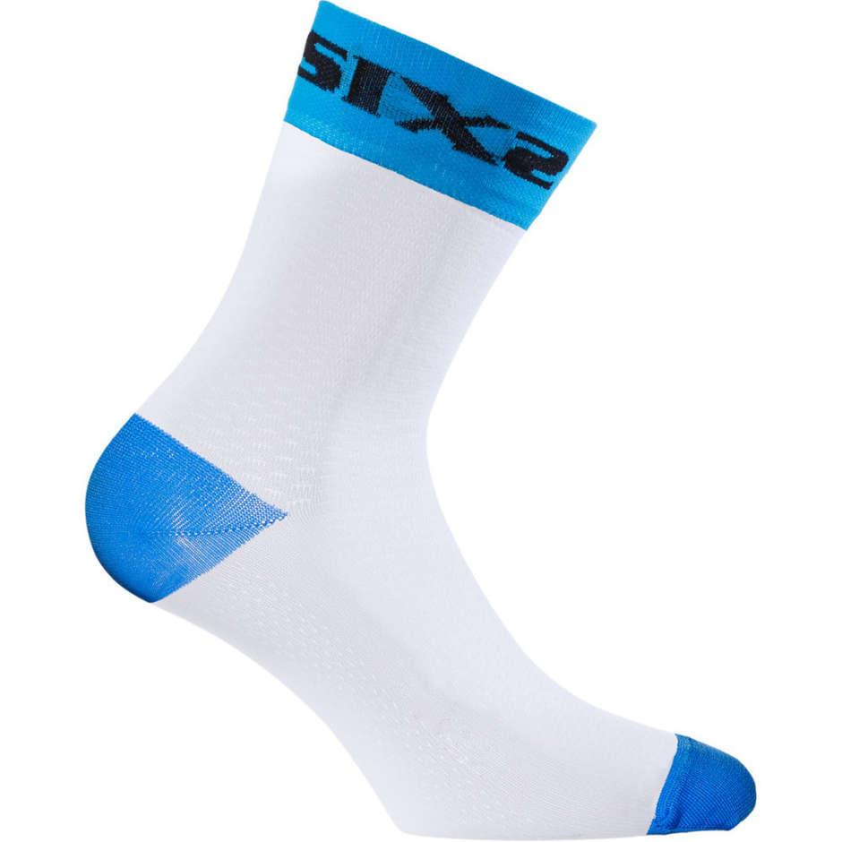 Calza Corta Sixs Sportiva Blu