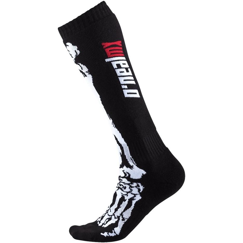 Calze Lunghe Bambino Oneal Pro Mx Sock Moto Cross Enduto Mtb nero