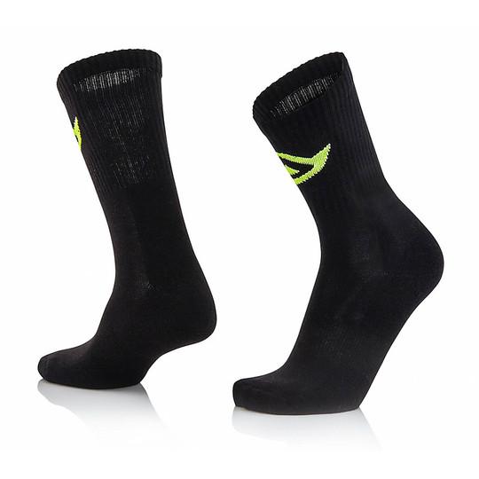 Calze Moto Corte Acerbis Cotton Socks Nero