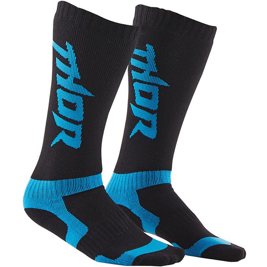 Calze Moto Cross Enduro  Thor S15 Sock Nero Blu