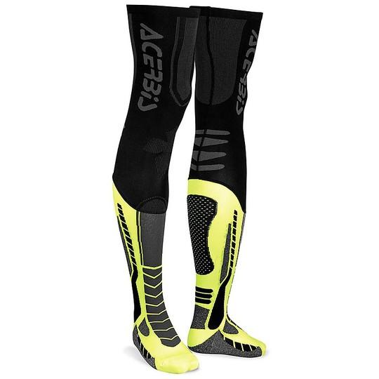Calze Moto Tecniche Acerbis X-Leg pro Nero Giallo