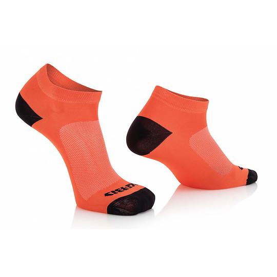 Calze Tecnica Corta Acerbis Sport Socks Arancio Fluo