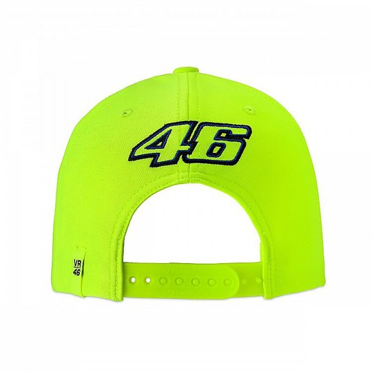 Cappellino VR46 Classic Collection 46 The Doctor Giallo