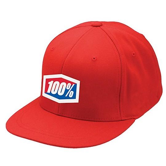 Cappello 100% Essential Rosso