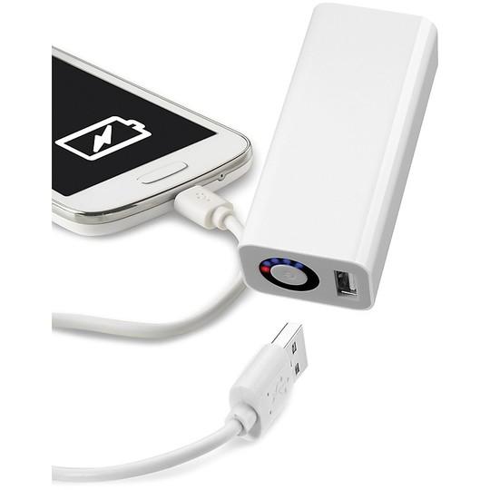 Caricabatterie power banck Emergenza CellularLine Pocket 3000 Bianco