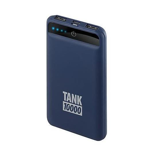 Caricabatterie USB Portatile per Smartphone Lampa 38823 Tank 10000