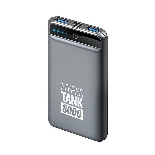 Caricabatterie USB Portatile per Smartphone Lampa 38824 Hyper Tank 8000
