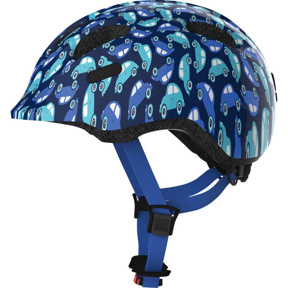 Casco Bici Abus da Bambino smiley 2.0 Blu Car