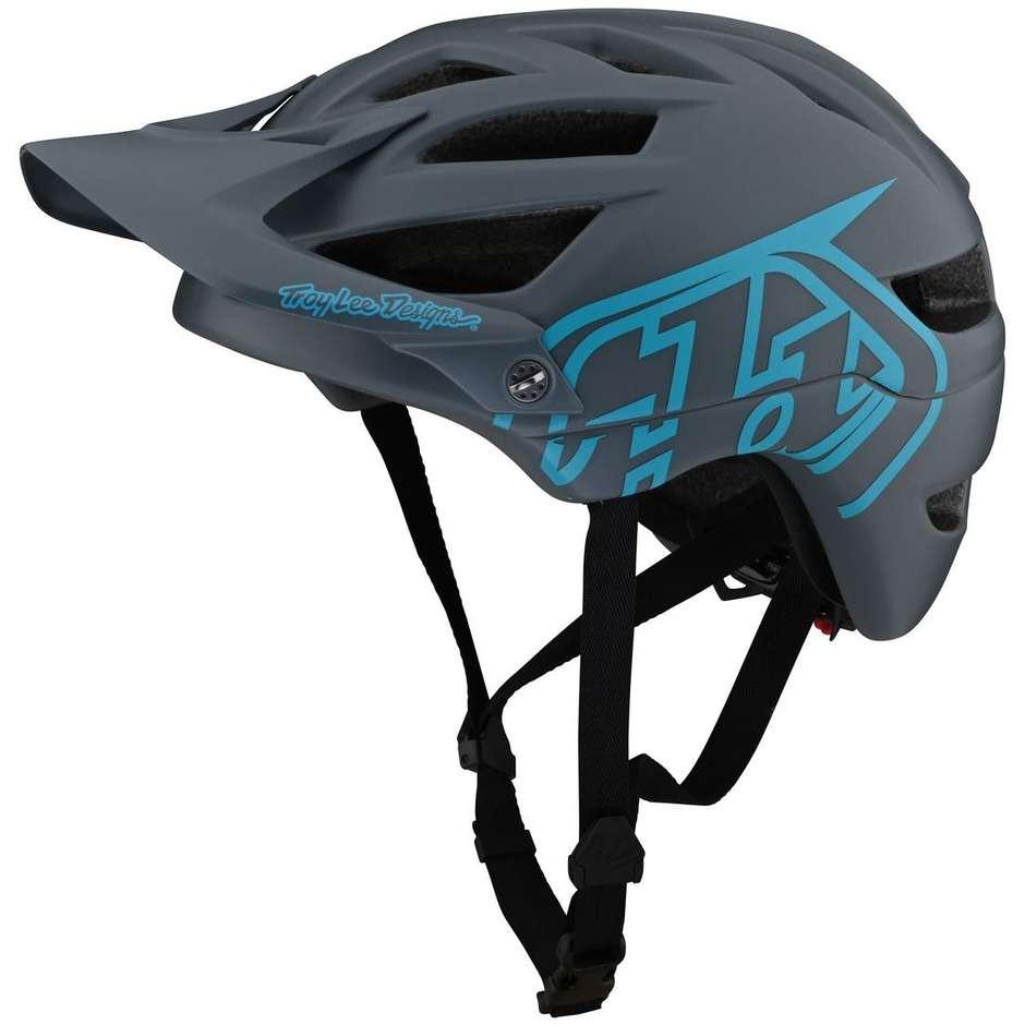 Casco Bici Troy Lee Designs A1 DRONE Grigio Blu