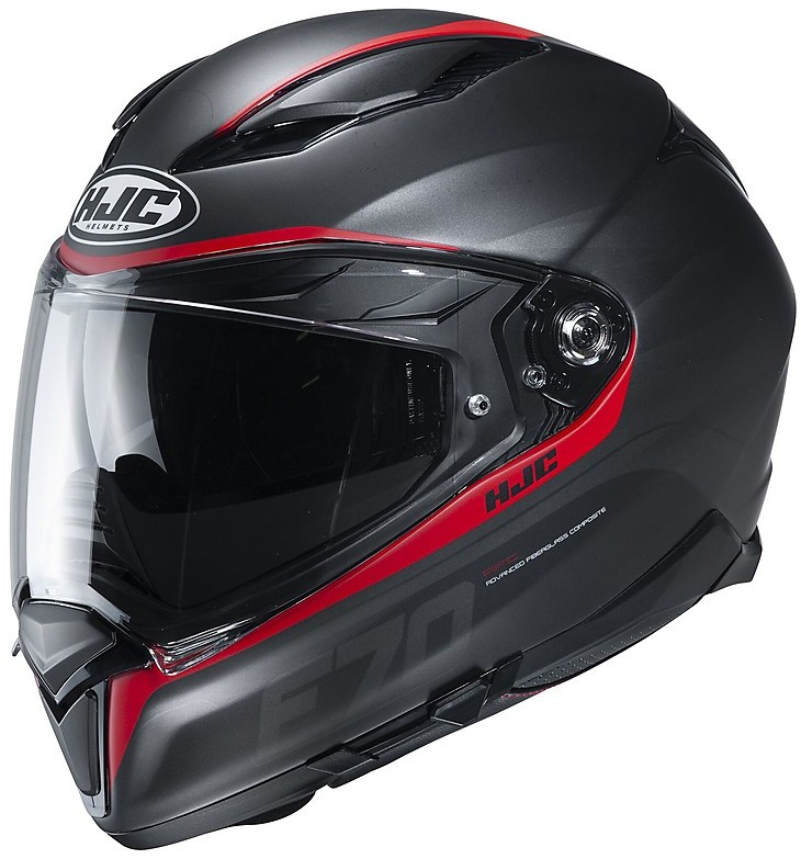 Nero//Giallo Casco moto HJC F70 MAGO MC4HSF M