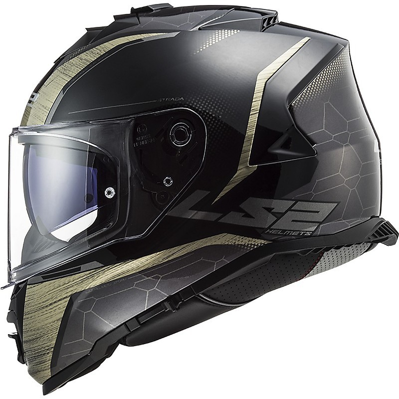 Ls2 ff902 Scope SOLID NERO OPACO CASCO MOTO PARASOLE MAX VISION Pinlock