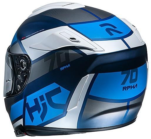 Bianco//Grigio//Blu XL Casco moto HJC RPHA 70 DEBBY MC2SF