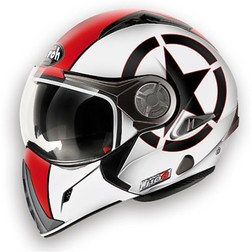 Casco Moto Apribile Airoh J106 Shot Red Gloss Airoh