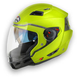 Casco moto Apribile crossover Airoh Executive Color giallo Fluo Airoh