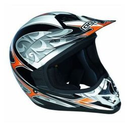 Casco Moto Cross AGV Rc5 Pro Colorazione Flash Argento Agv
