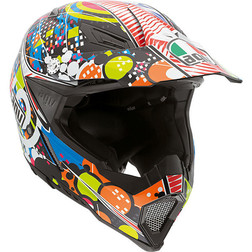 Casco Moto Cross Enduro AGV AX-8 Evo Multi Hypno Agv